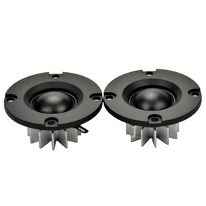altavoces abs al por mayor-Freeshipping pulgadas HIFI Tweeter mm W Altavoz ABS Frost Panel ohmios ohm Entusiasta del radiador de aluminio DIY Selvage Neodimio Tweete