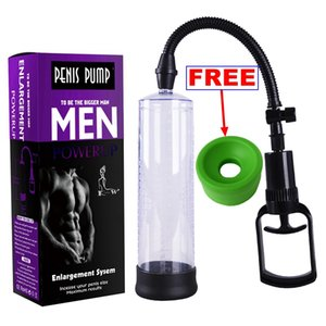 Bigger Growth Penis Ectender Vacuum Pump Enlarger Penis Enhancer with 2 Sleeves