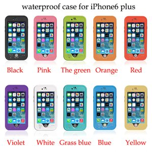 Wholesale Redpepper For iPhone7 plus plus s plus s c s Case Red Pepper Waterproof Shockproof Case With Fingerprint Sensor Touch color