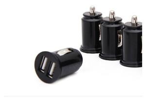 Universele bullet dual usb 2-Port mini sigarettenaansteker lader, 5 v 2.1a autolader power adapter gratis verzending car charger