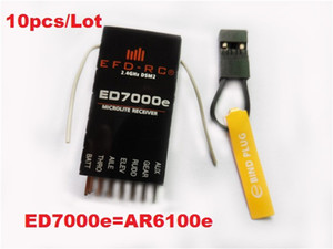 2.4GHz 6 channel 6CH ED7000e(AR6100e) RC Receiver Support DSX7 DSX9 DSM2 DSX12 DX6i DX7of Helicopters,micro aircraft,Quadcopter