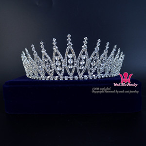 Wedding Bridal Tiara Headband Beauty Pageant Crown Hair Jewelry Accessories Extremely Beautifull Good Quality Hair Wear 02287