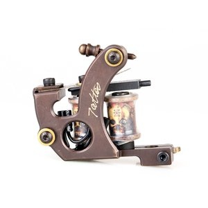 Hot Sales Tattoo Machine High Stability Pure Copper Carved Tattoo Machine Liner Tattoo Machine Supply TM451 on Sale