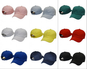Wholesale 2016 New Solid Adjustable Snapbacks Hats Blank Strap Back Caps Fashion Cotton Golf Caps For Men And Women