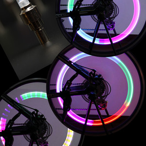 Wholesale Motorcycle Car Bike Bicycle Tire LED Light Cycling Tyre LED Light Wheel LED Light Colors
