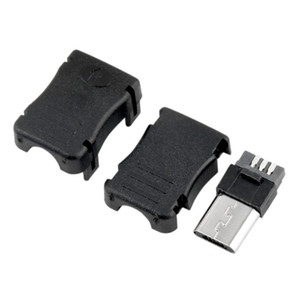 Wholesale plugs for sale - Group buy 3 IN MK5P Micro USB Pin P T Port Male Plug Socket Connector Plastic Cover Case for DIY Solder