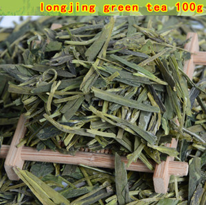 New 100g China Famous Good quality Dragon Well Longjing Green Tea For Health Care Natural Health Drinks Free Shipping