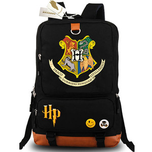 ingrosso zaini blu-Zaino porta badge Zaino portabadge Harry Potter Zaino blu nero Zaino qualità Zaino scuola sport Outdoor day pack