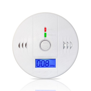 Wholesale High Quality LCD Display Home Security Safety CO Carbon Monoxide Poisoning Smoke Gas Sensor Warning Alarm Detector Kitchen