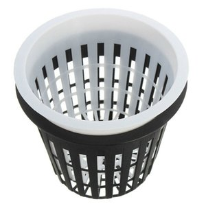 Wholesale 20 inch Heavy Duty Mesh Pot Net Cup Vegetable Grow Basket Flower Plant Hydroponic Aeroponic Planting Grow