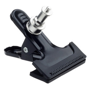 "Wholesale- Light Stand Clip Big Clamp Grip For Flash Trigger Monolight Mount Bracket with 1 4"" Screw"