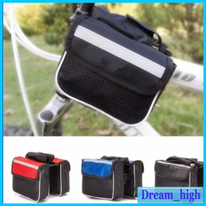 Wholesale Cycling Bag Phone Bicycle Accessories Bicycle Saddle Tube Package Mountain Bike Saddle Bag Bike Triple Pack Handlebar Bag