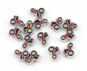 Wholesale 20pcs Farm Locomotive Car Floating Locket Charms DIY Alloy Accessories Fit For Living Magnetic Memory Glass Floating Locket