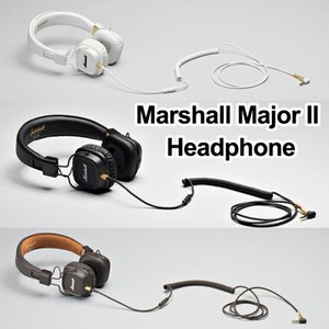 Wholesale Marshall Major II Bluetooth Headphones with Mic Deep Bass DJ Hifi Headset Professional Studio Monitor Noise Cancelling Sport Earphone