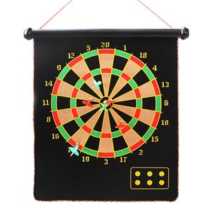 Leisures sports games drafts board magnetic double-sided dart target magnet target toy parent-child game dart board