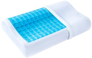Wholesale Contour Memory Foam Pillow Cooling Gel and Washable Case