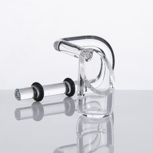 Wholesale Quartz Swing Quartz Honey Bucket Quartz Banger Nail Rubber Rings Glass water pipe Smoking Accessory