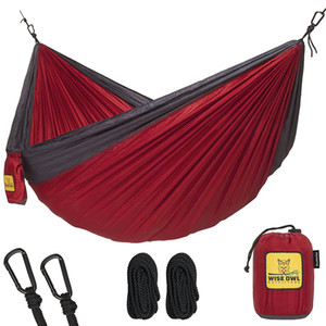 Wholesale Hammock for Camping Single Double Hammocks Top Rated Best Quality Gear For The Outdoors Backpacking Survival or Travel Portable Ligh