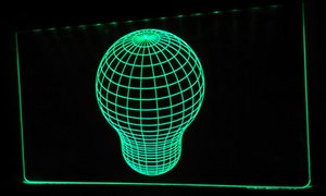 Wholesale 3D a053 g Sphere D LED Light Signs