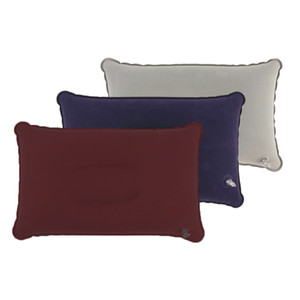 самолеты на продажу оптовых-pc Outdoor Portable Folding Air Inflatable Pillow Double Sided Flocking Cushion for Travel Plane Hotel Hot Sale