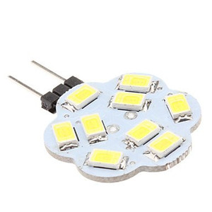 Wholesale marine boat spotlight resale online - rv led dome light W G4 SMD LED V Lamp White Bulb Boat Marine Car Light