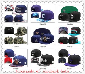 Wholesale Snapback Hats Cap Cayler Sons Snap back Baseball football basketball Caps Hat Adjustable size drop Shipping choose hats from our album C5