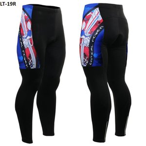 Wholesale Ghostwolf 2016 Mens Cycling Long Pants thermal Ciclismo 3D Pad Bicycle Pants Breathable Bike Tights Outdoor Sport Wear Bike Pants Size S-4XL