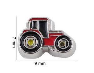Wholesale 20PCS Farm Locomotive Car Floating Locket Charms Fit For Glass Magnetic Memory Floating Locket Pendant Jewelrys Making