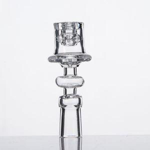 Electric Diamond Knot Quartz Nail enail 10mm 14mm 18mm Male Female 19.5mm Bowl Enail Polished Joint