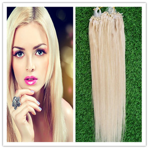 Wholesale 7a Micro Loop Brazilian Extensions Virgin Micro Loop Ring Hair Products s Micro Loop Human Hair Extensions