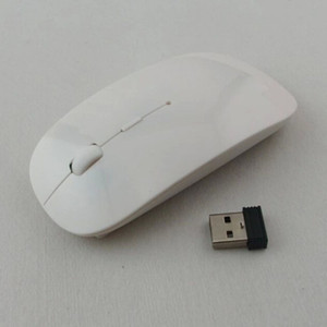 Popular Ultra Thin USB Optical Wireless Mouse 2.4G Receiver Super Slim Mouse For Computer PC Laptop Desktop 5 Candy color