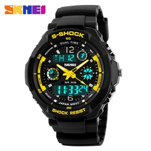 Wholesale Fashion Skmei Sports Brand Watch Men's Digital Shock Resistant Quartz Alarm Wristwatches Outdoor Military LED Casual Watches