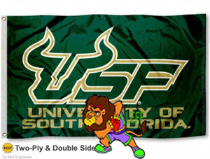 Wholesale South Florida Bulls Tailgate Banner Flag X2FT Custom Flag