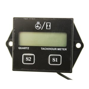 Wholesale tachometer hour meter for sale - Group buy Motorcycle supplies hour meter display stroke stroke motorcycle general replaceable battery tachometer