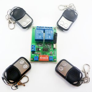 Wholesale Smart Home Wireless remote control switch x Transmitter x Receiver kit RF Module for Electric door gate LED Motor M