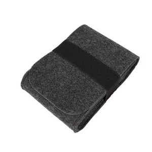 Mouse mobile hard disk bag Felt power line digital data storage bag Organizer drop shipping Can be customized