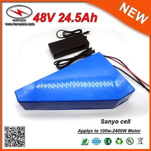 Wholesale power scooter batteries resale online - Custom Cell Capacity Power V Triangle Battery V Lithium Ion Battery Packs Ah V Scooter Battery for W Electric Bike