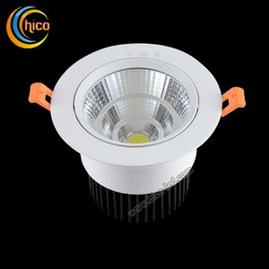 Wholesale COB LED downlight surface mounted W W W Dimmable Ceiling lamp AC85 V White Warm white COB Aluminum Heat Sink convenience lamp