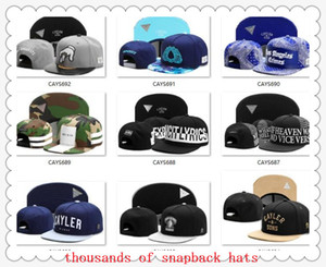 Wholesale ball drops resale online - Snapbacks Ball Hats Fashion Street Headwear adjustable size Cayler Sons custom football baseball caps drop shipping top quality