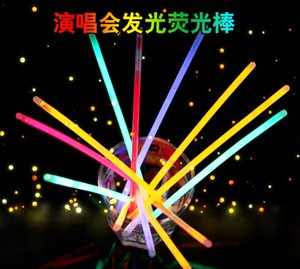 Wholesale led fluorescence stick concert light stick luminous stick toys plastic toys creative cartoon