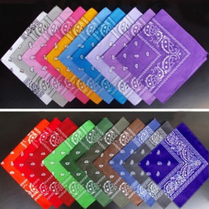 Whole sale free shipping Newest Cotton Blend Hip-hop Bandanas For Male Female Head Scarf Scarves Wristband hot selling