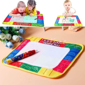 Wholesale 2017 X19cm Children Painting Canvas Water Drawing Painting Writing Mat Board Magic Pen Doodle Toy Christmas Gift Whale