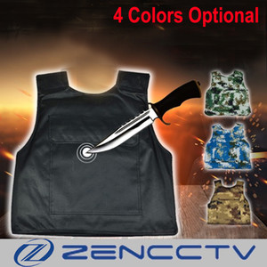 Wholesale Hard Stabproof Vest Outdoor Tactical Vests Stab Proof Clothing Anti Cut Personal Self Defence Safety Tungsten Steel Liner Plate
