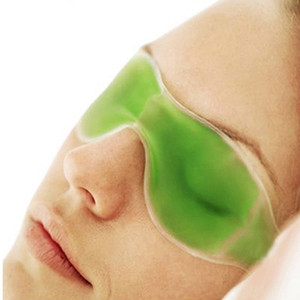Wholesale-Summer Essential Remove Dark Circles Relieve Eye Fatigue Sleep Masks Eye Gel Ice Goggles Color Random