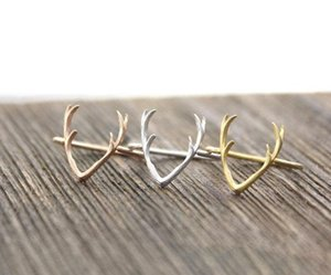 Wholesale 10 of sell like hot cakes products simple pilose antler rings single ring reindeer antlers loops for women animals and