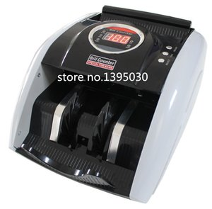Wholesale Wholesale- 110V   220V Money Counter Suitable for EURO US DOLLAR etc. Multi-Currency Compatible Bill Counter Cash Counting Machine 1pc