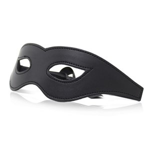 Leather Eye Mask For Sexy Lady Cutout Eye Face Mask Masquerade Mysterious Masks For Home Party Fancy Dress Costume