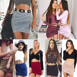 Wholesale Sexy Night Club Dresses Party Women s Skirts Dress Ladies Clothing Garment Hip Package Short Skirt Tall Waist Slim Dress