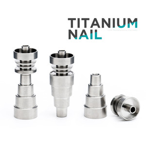 Wholesale Metal Banger Domeless Titanium Nail 10mm 14mm Male & Femal Joint 2 in 1   4 in 1   6 in 1 with 6 Different Types