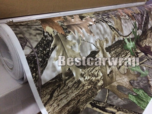Wholesale roof types resale online - Matte finish RealTree Camo Vinyl Wrap Mossy oak Tree Leaf Camouflage Car Wrap TRUCK CAMO TREE PRINT DUCK WOODLAND size x m Roll